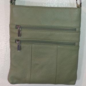 Handbags - Green Crossbody Purse